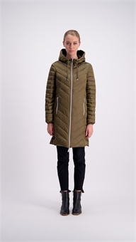 Renee Coat - down and reversible-moke-Sassys